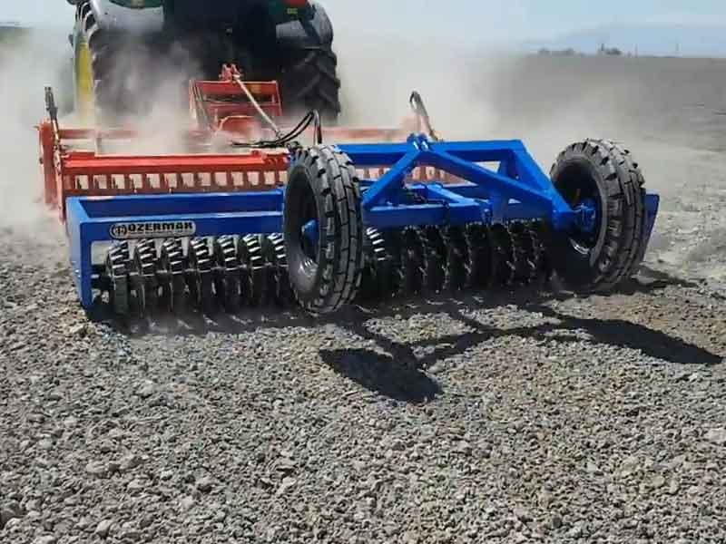 Double Heavy Type Roller Application